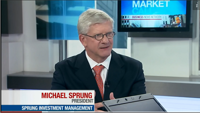 Michael Sprung Interviewed by Mark Bunting on BNN