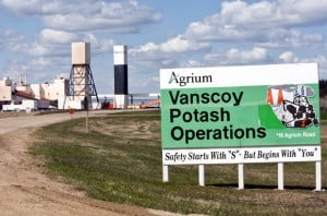 Agrium Inc Vanscoy Mine