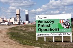 Agrium Inc Vanscoy Mine