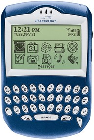 Blackberry 6210 Time All Time 100 Gadgets list
