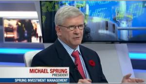 Michael Sprung EnCana Restructuring Plan
