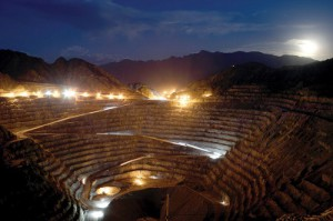 Goldcorp expects to start gold production at Cerro Negro in Argentina.