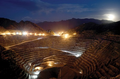 Goldcorp TSE:G Barrick partner Chilean gold