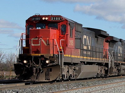 Canadian National Railway TSE-CNR earnings decline shipments