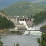 Fortis Inc. owns 51% of the Waneta Dam in BC. Expansion will add a second powerhouse located immediately downstream of existing dam.