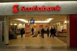Scotiabank closed the quarter with a 6.5% year-on-year increase in its net income to $1.709 billion