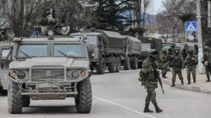 Financial market euphoria interrupted geopolitical events Russia Crimea