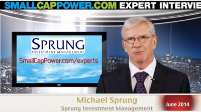 StockWatch Michael Sprung SmallCapPower.com