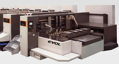 Stockwatch Cascades Mitsubishi Evol-100 presses two plants