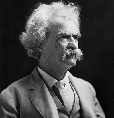 Mark Twain Facts stubborn statistics pliable