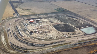 Cenovus Energy Canexus rail-loading terminal