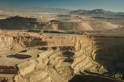 Barrick Gold Corp Zaldivar copper mine Chile
