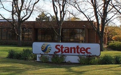 Stantec growth forecast declining oil gas investment