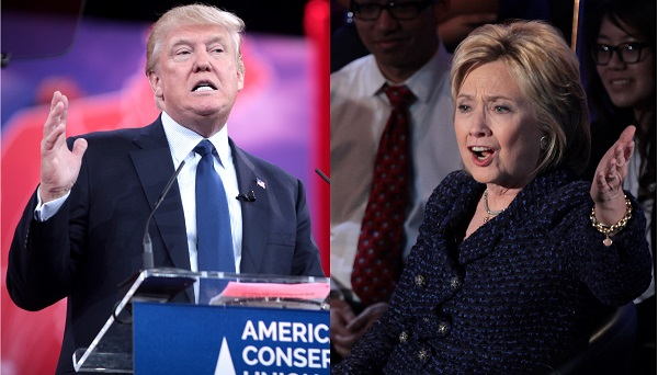 Clinton Trump Election fever US voters presidential candidate dislike