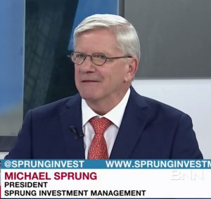 Michael Sprung, Top Picks, Scotiabank, Canadian Natural, Hudbay Minerals