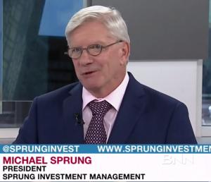 Michael Sprung Top Picks AGT, AGT Food and Ingredients, ECA, Encana, Royal Bank, RY