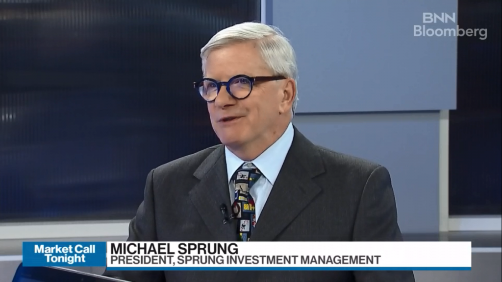 michael sprung bnn bloomberg marketcall toppicks