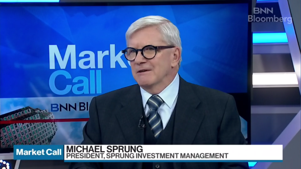 Michael Sprung Top Picks BNNBloomberg Market Call Manulife Financial, MFC, Suncor Energy, SU, New Flyer, NFI